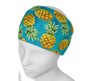 Pineapple Teal Headband