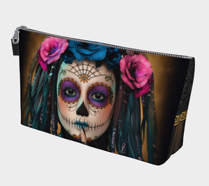 Sugar Skull  Makeup Bag