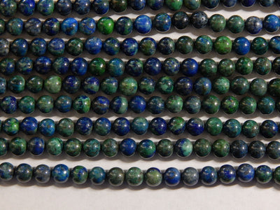 Chrysocolla Round Beads Approximately 6-6.5mm