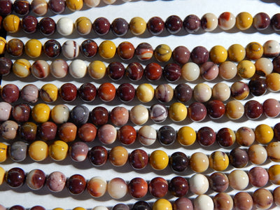 Mookaite Approximately 8-8.5mm Round Beads
