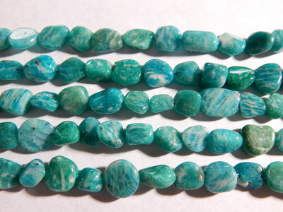 Russian Amazonite Irregular Nugget Beads Approximately 5-9mm