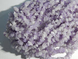 5X8mm Light Amethyst Semi-Precious Chip Beads, 35-36 Inch Strand (N1-INDOC95)