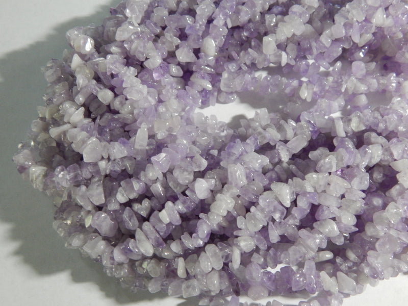 Light Amethyst Chip Beads Approximately 5X8mm