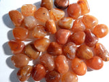 Carnelian Tumbled Stone , 1 PC (INDOC33)