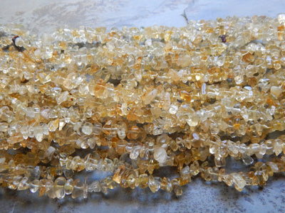Citrine Chip Beads Approximately 5X8mm