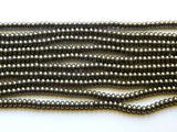 Pryite Beads - 5X8mm A Grade Pyrite Rondelle Gemstone Beads, 25 PC (IND1C00)