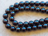 12mm Black Preciosa Traditional Czech Glass Pearl Beads, 8 PC (INDOC48)