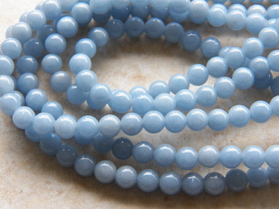 Angelite 6mm Round Beads