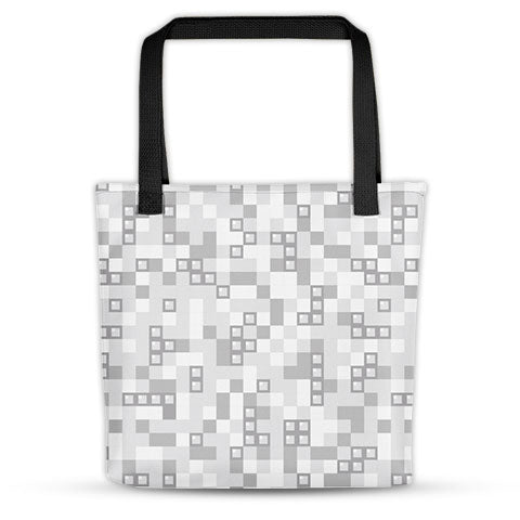 Portable Gaming Tetris Tote Bag