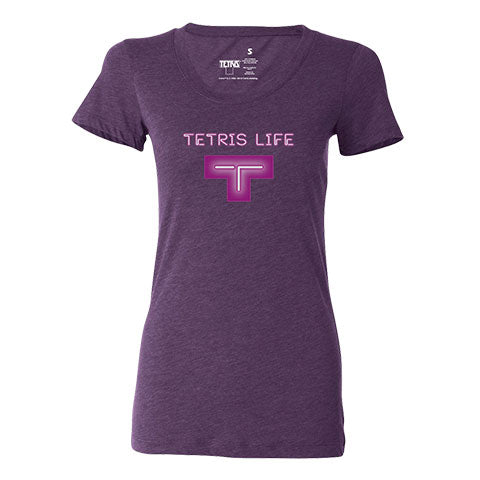 Tetris Neon Collection Tetris Life Women's Shirt