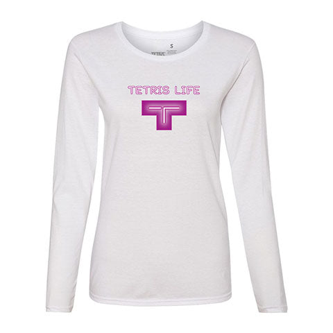 Tetris Neon Collection Tetris Life Women's Long Sleeve Shirt