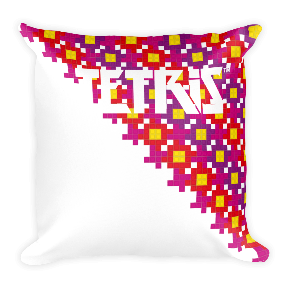 Tetris Flower Power Pillow