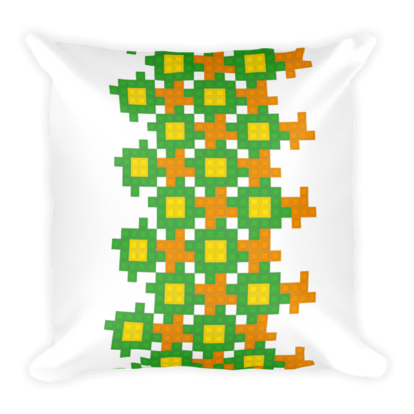 Tetris Green Thumb Pillow