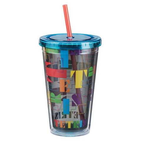 Tetris 18 oz. Acrylic Travel Cup