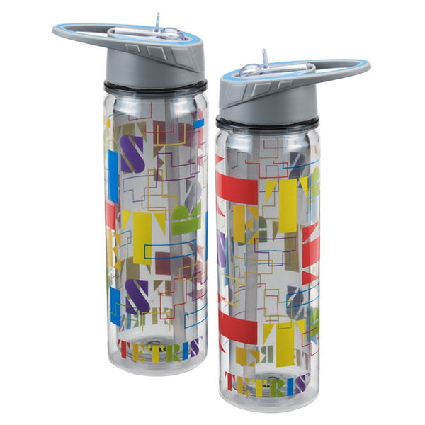Tetris 18 oz. Tritan Water Bottle