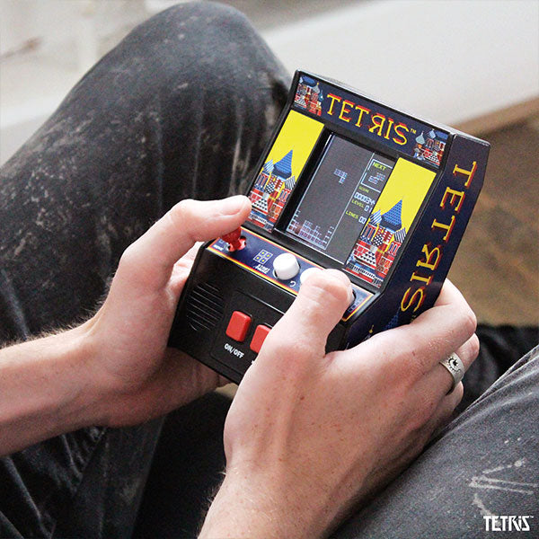 Arcade Classics Tetris Handheld Mini Retrogaming Arcade Unit