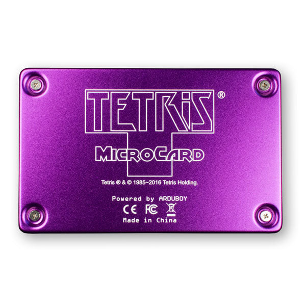 Tetris® MicroCard Handheld Electronic Tetris Game by Arduboy