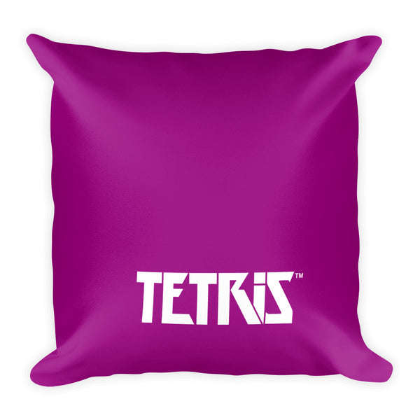 Tetris Floral Collection T Tetrimino Pillow