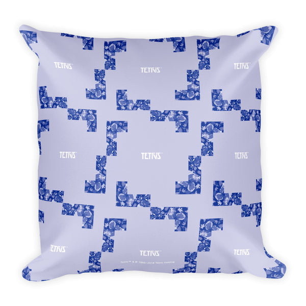 Tetris Floral Collection L Tetrimino Pillow