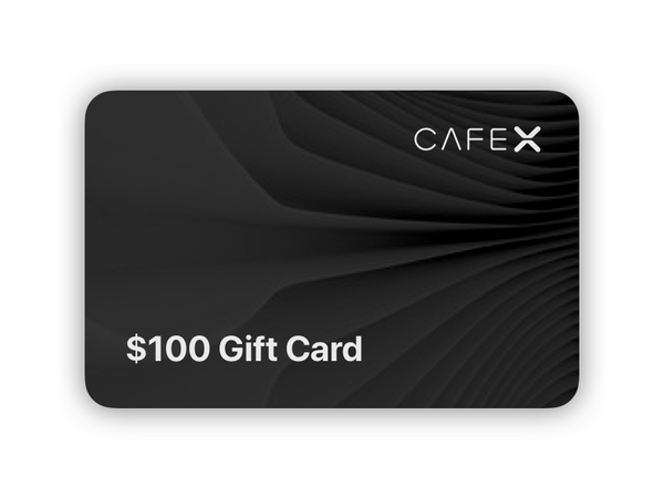$100 Cafe X Gift Card for only $80! Black Friday Special!