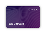 $25 Cafe X Gift Card