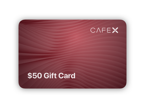 $50 Cafe X Gift Card