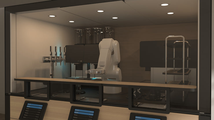 Reservation: Robotic Coffee Bar