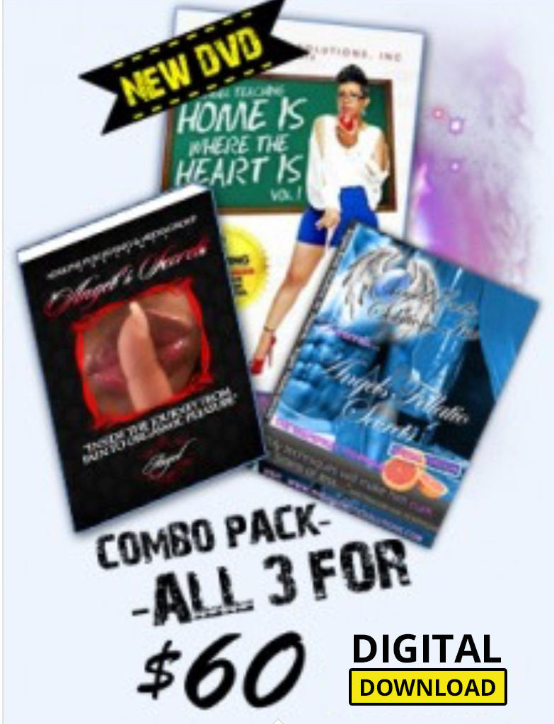 Combo Special - Best Selling Offer - Digital Downloads -  2 Videos plus an ebook
