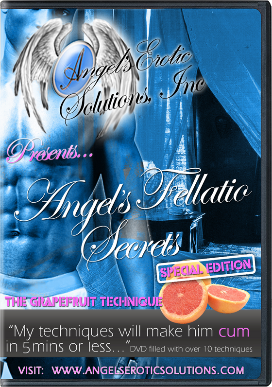 Angel's Fellatio Secrets - DVD
