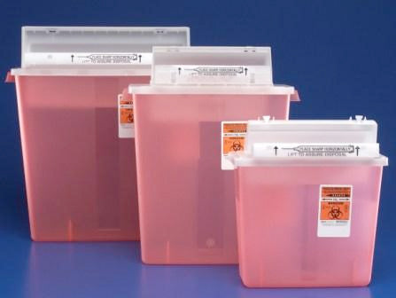 Sharps Container, SHARPS 5.4 QT, N, BD #305443, 20/CS