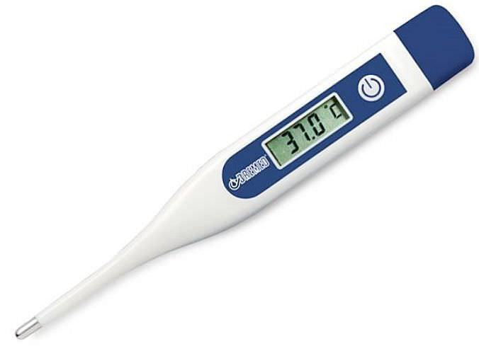 Thermometers, REFRIGERATOR / FREEZER, DIGITAL, EA