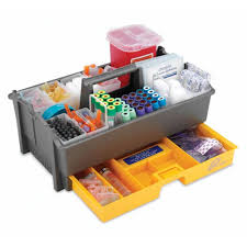 Tray - Phlebotomy, #TRAY04FR-01, GRAY, EA