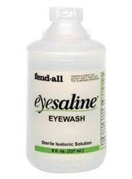 EYE WASH SOLUTION, MAJOR 120 ML, 4 OZ #E00904537720, EA
