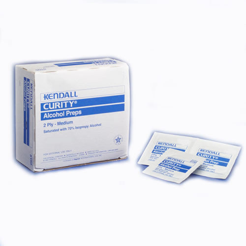 ALCOHOL PAD, MED, #5750, KENDALL, 200/BOX