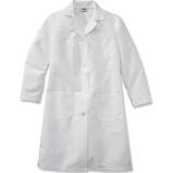 Lab Coat, Disposable, W.Cuff - White (Sm-M-L-XL-2XL), 30/cs