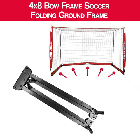 4x8 Soccer Net Replacement Folding Ground Frame