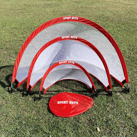 Portable Pop Up Soccer Goals - Great For Backyard, Fields or The Beach