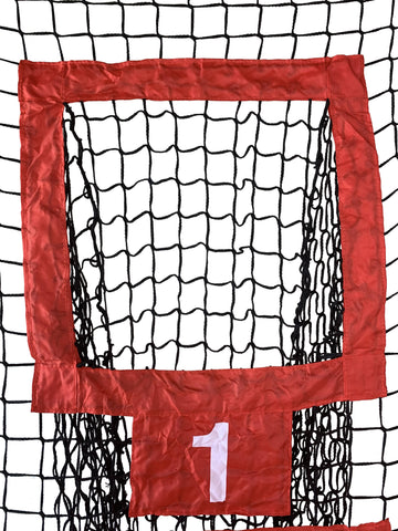 Sport Nets Heavy Duty Football Target Throwing Net Perfect For Quarterback Training