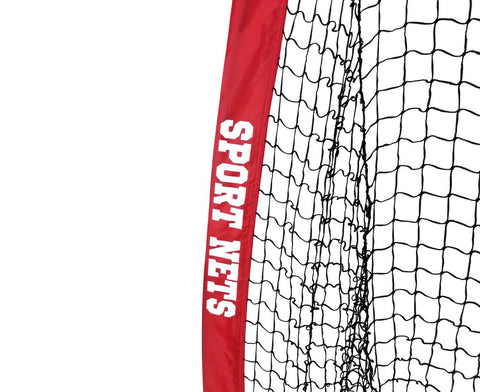 Portable Baseball and Softball Hitting Net - 5 x 5 Large Mouth Net With Hitting Tee and Ball Caddy