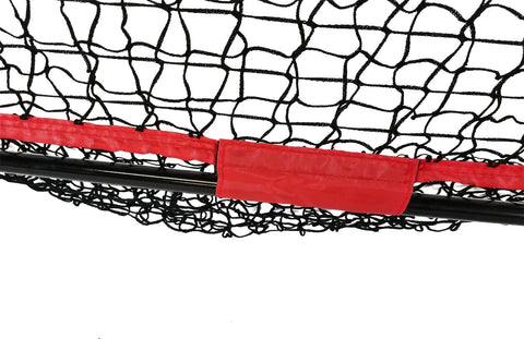 Portable Baseball and Softball Hitting Net - 5 x 5 Large Mouth Net.