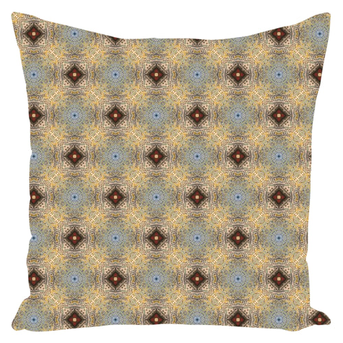 Island Life Water Drops Pattern Throw Pillows