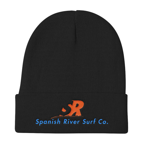 Classic SRSurf Co. Logo Branded Knit Beanie