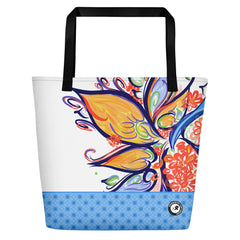 Spanish River Surf Co. ParadiseFlower Beach Bag