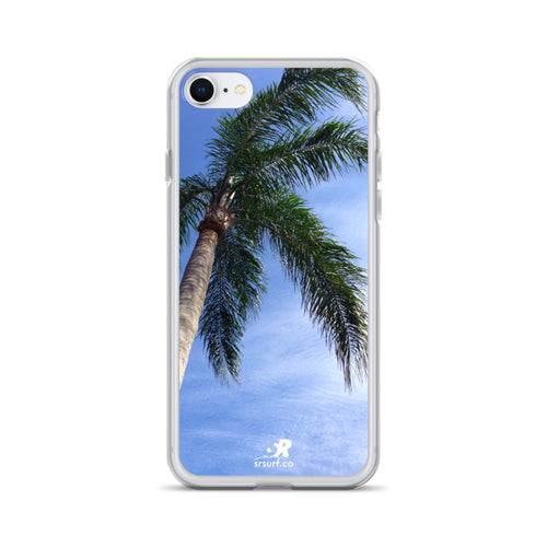 Poolside Palm Tree iPhone Case
