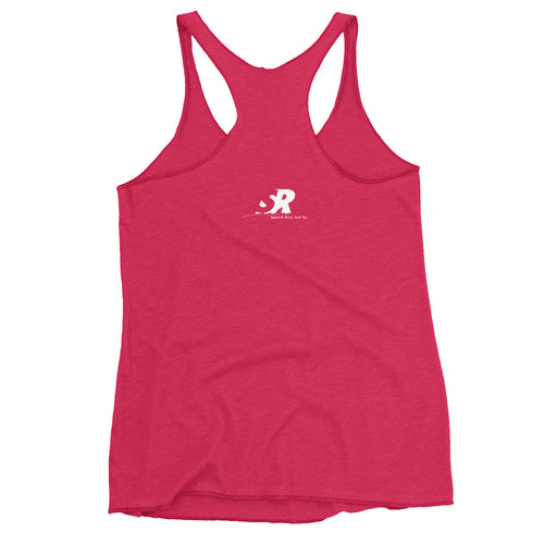 EarthFlower Design Women's Racerback Tank