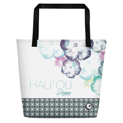 Spanish River Surf Co. Hibiscus Flower Beach Bag