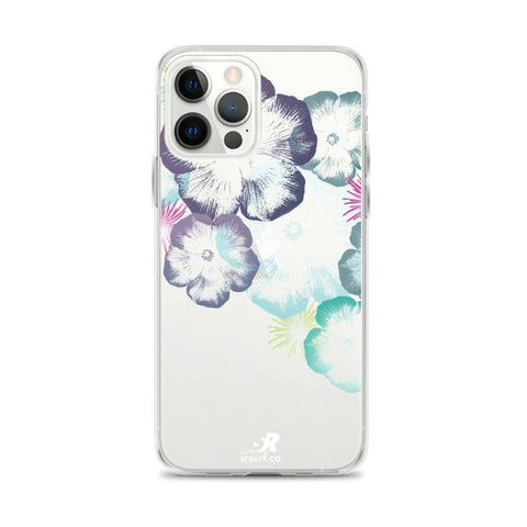 Hawaiian Hibiscus Floral Design iPhone Case