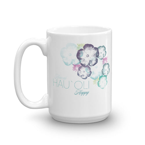 Hawaiian Hibiscus Floral Design Coffee Mug