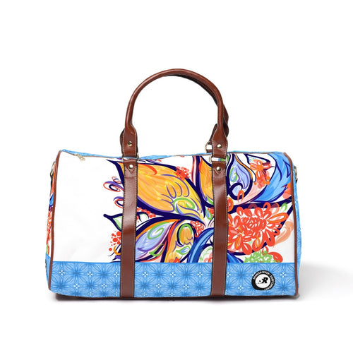 ParadiseFlower Design Floral Illustration Travel Bags