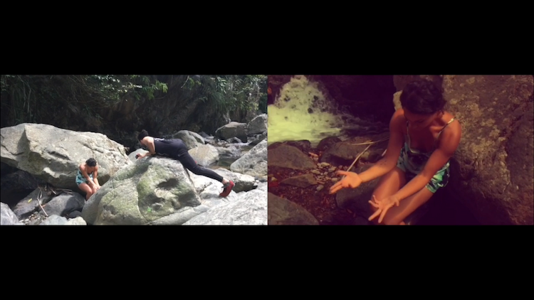 Side by Side: The Making of Camille's Waterfall Solo in Peñuelas, Puerto Rico
